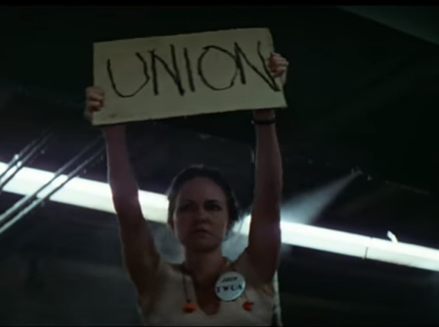 'Norma Rae' offered insight into the work world for women in the seventies.