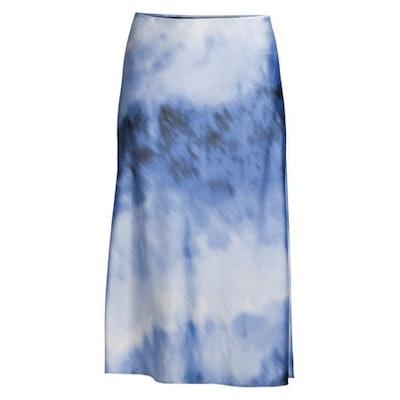 Satiny Slip Skirt