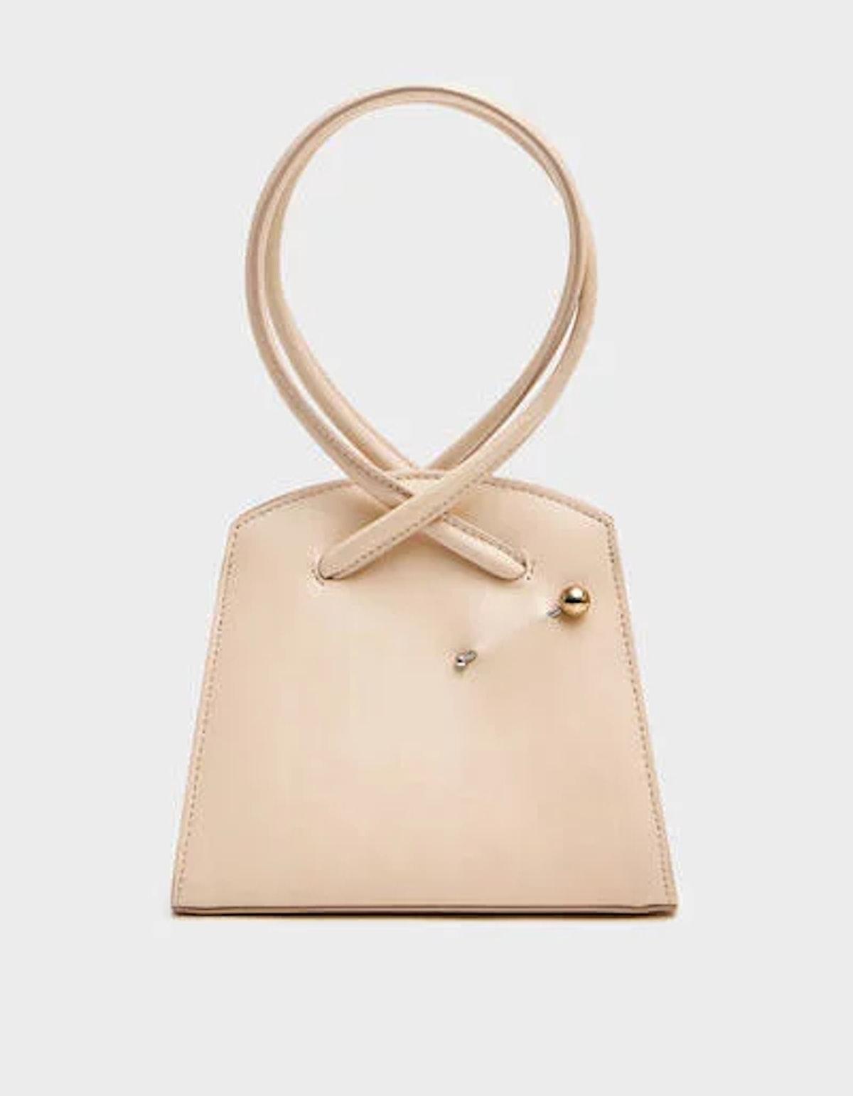 Twisted Triangle Bag