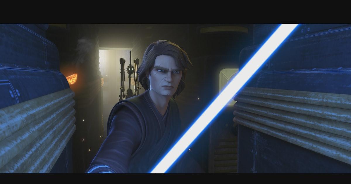 'Clone Wars' Season 7 scene retcons a pivotal prequel moment