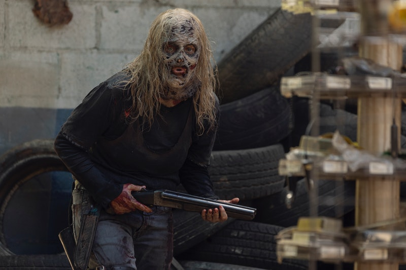 Alpha will face betrayal on The Walking Dead.