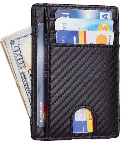 Toughergun RFID Blocking Slim Wallet