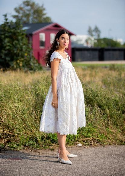 Bettina Looney White Dress