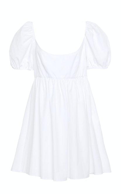 Deflina Cotton-Poplin Mini Dress