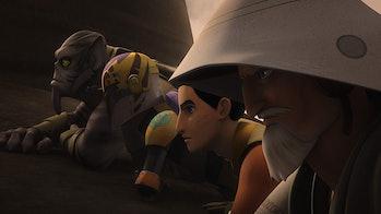 Star Wars Rebels Season 5 Ezra Obi-Wan Kenobi