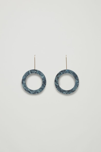 Denimite Hoop Earrings