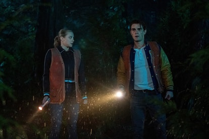 Betty and Archie on Riverdale