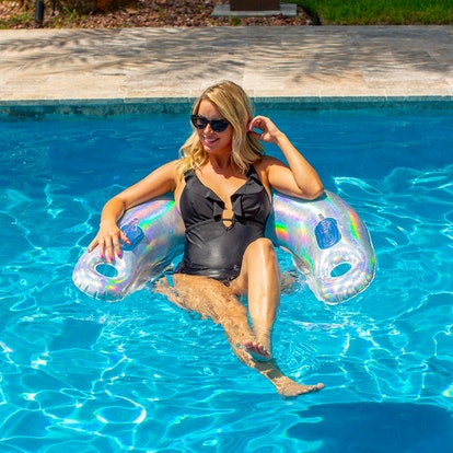 PoolCandy Inflatable Holographic Sun Chair