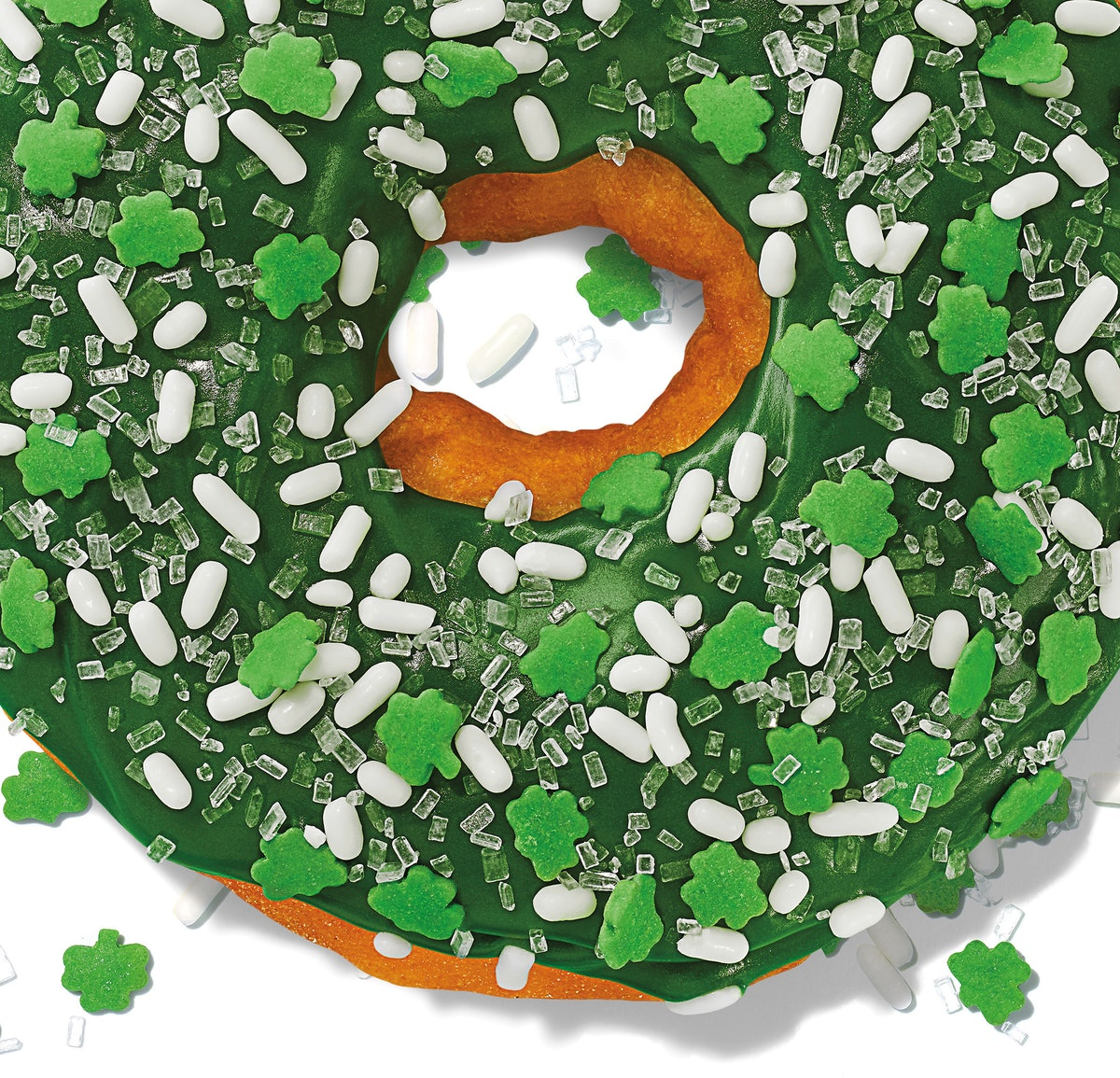 Dunkin's St. Patrick's Day 2020 donut is a super festive bite.