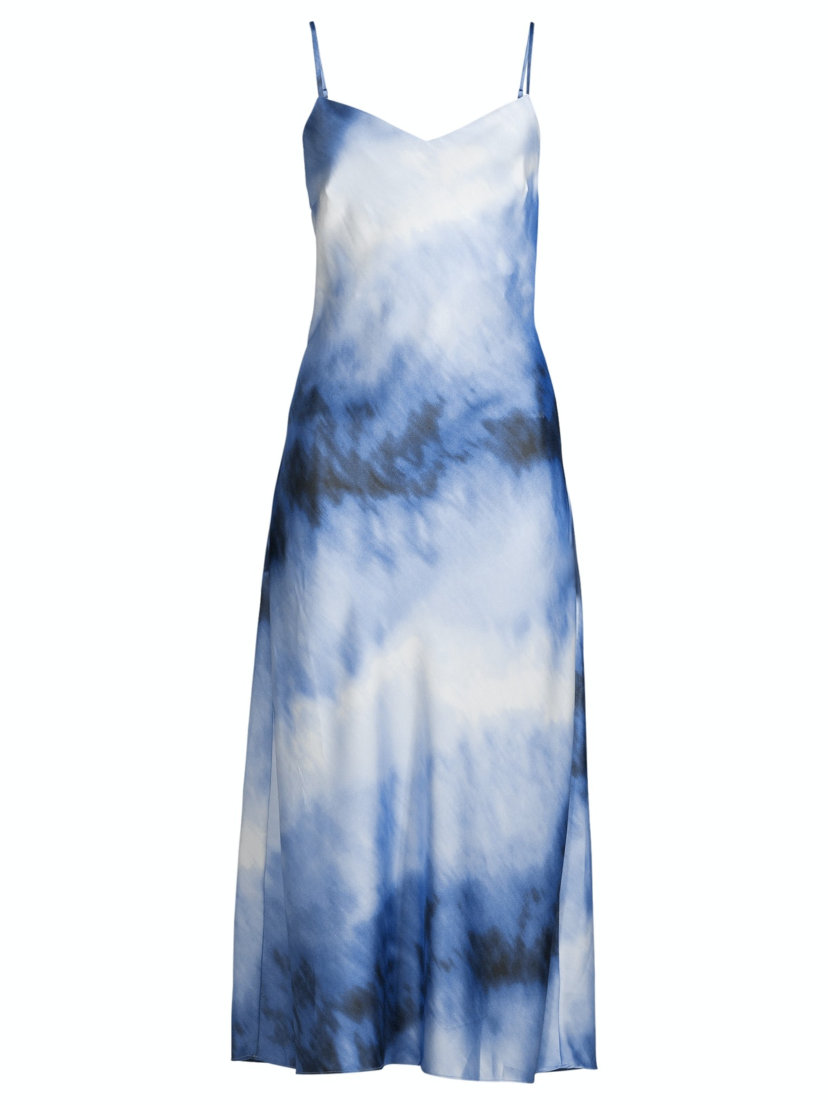 Satiny Slip Dress