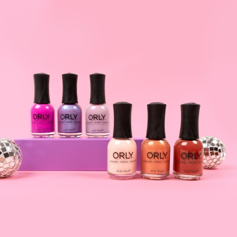 Orly's new Feel the Beat collection of spring nail polishes is perfect for festival season