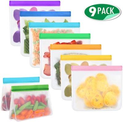 Mlife Reusable Storage Bags (9-Pack)
