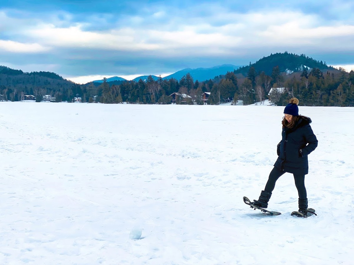 Kaitlin Cubria in Lake Placid, New York