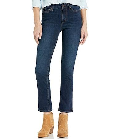 Amazon Brand - Goodthreads Women's Mid-Rise Slim Straight Jean