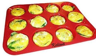 keliwa Silicone Muffin Pan