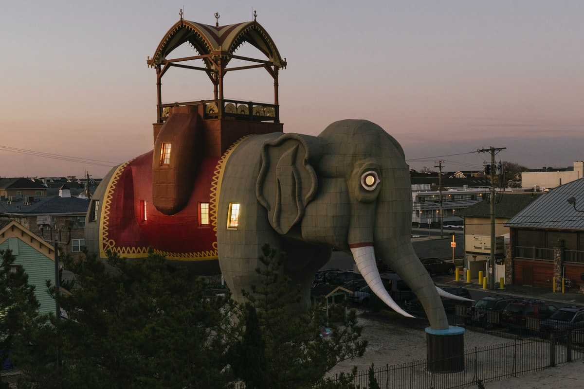 Lucy the Elephant is open for guests to stay on Airbnb at the Jersey Shore.