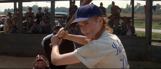 'A League Of Their Own' tells the story of the women's baseball league during World War II