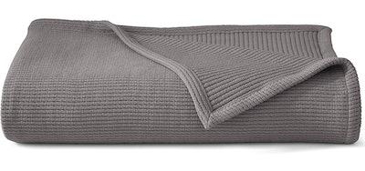 Grund Sea Pines 100% Organic Cotton Blanket (50-inch by 70-inch)