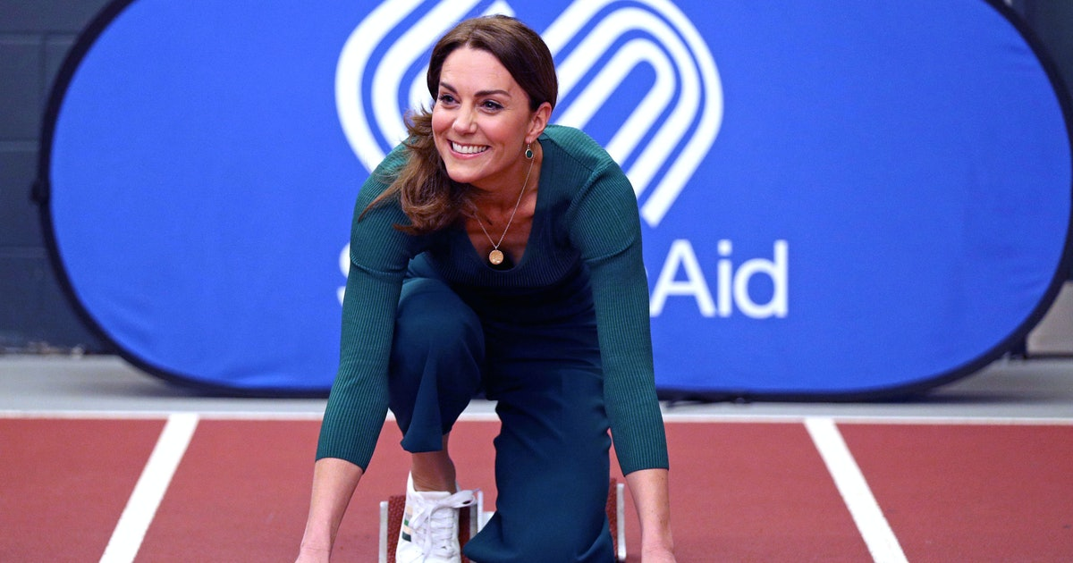 7 Ways To Wear White Trainers Just Like Kate Middleton