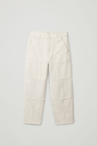 Seam-Detailed Jeans