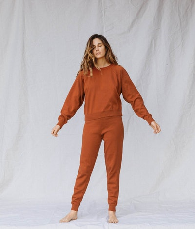 The Sonny Sweater - Rust