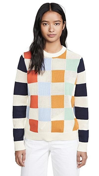 Checkered Sweater