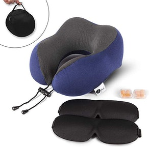 Softouch Memory Foam Travel Pillow