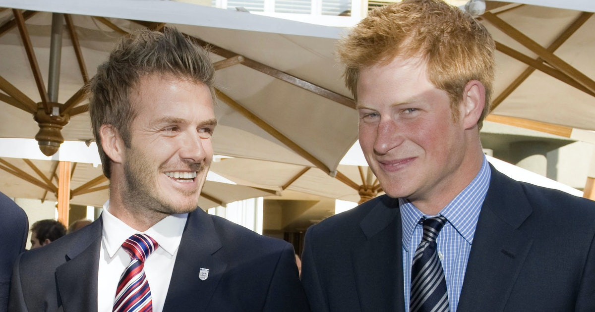 """David Beckham Says Prince Harry Is """"That Person That Every Father Wants To Be"""""""