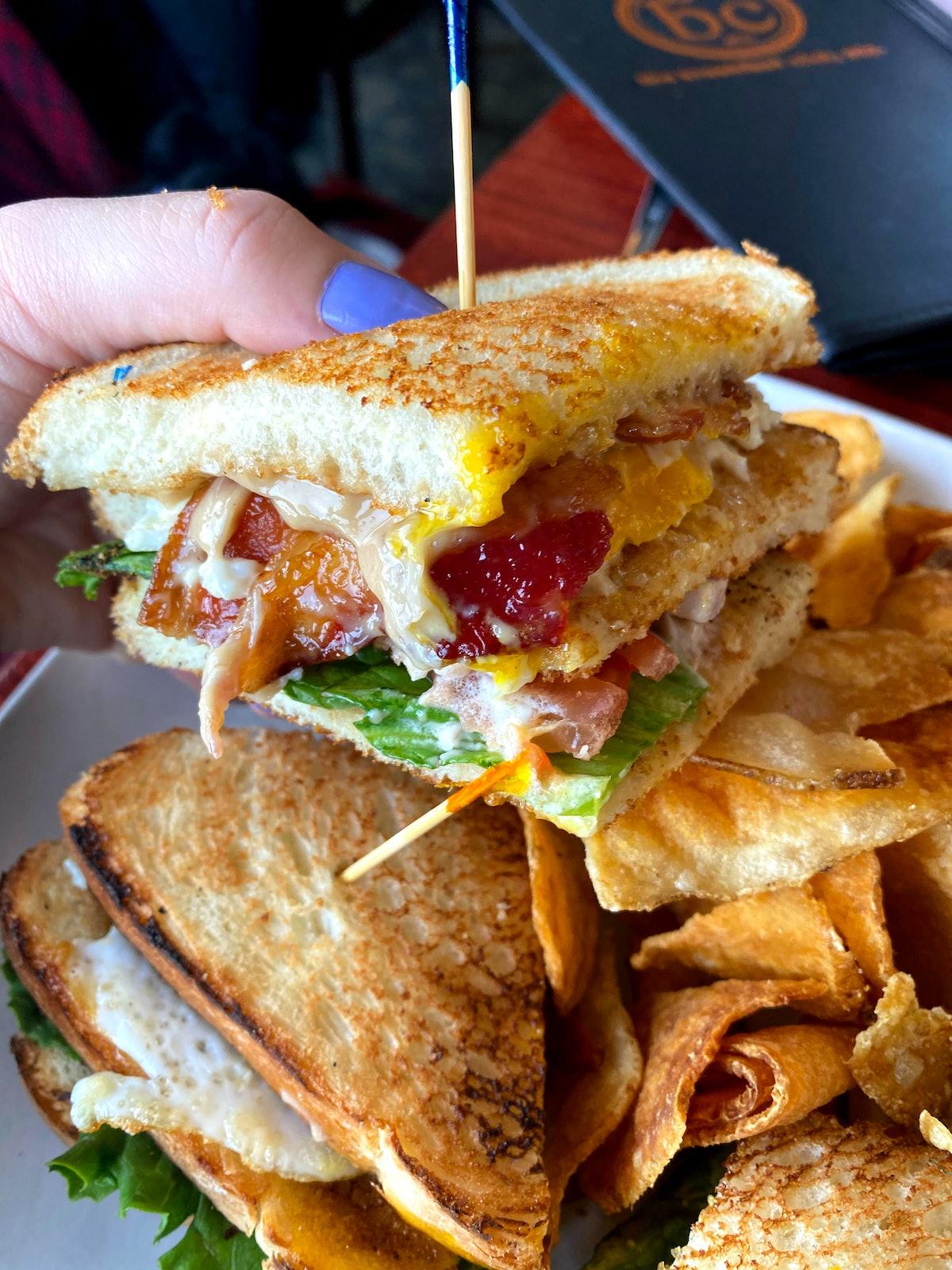 The Breakfast Club, Etc. Sandwich