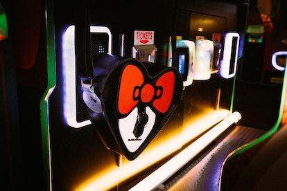 Hello Kitty x Dr. Martens Heart-Shaped Satchel
