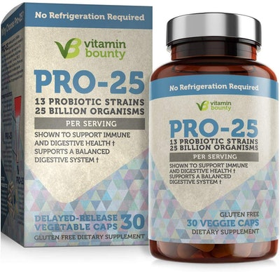 Vitamin Bounty Pro-25 Probiotic (30 Servings)