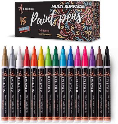 Artistro Paint Pens (15-Pack)