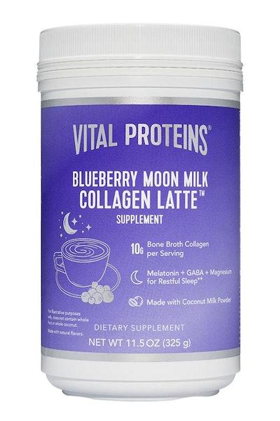 Vital Proteins Blueberry Moon Milk Collagen Latte