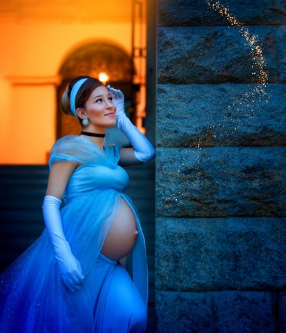 This photographer celebrated expecting moms by transforming them into Disney princesses.