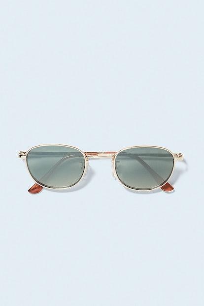 Geometrical Frame Sunglasses