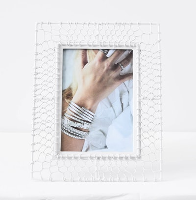 Mesh Pattern Photo Frame