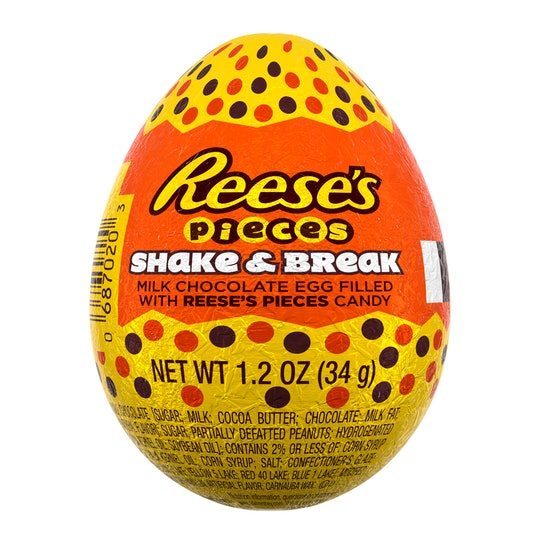 A Picture of a Reese egg from Hershey's