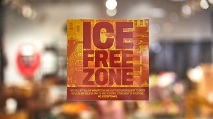 Lush stores will become ICE free zones as part of the brand's new Free To Move campaign.