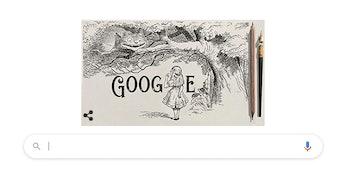 Sir John Tenniel Google Doodle