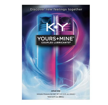 K-Y Yours + Mine Couples Personal Lube