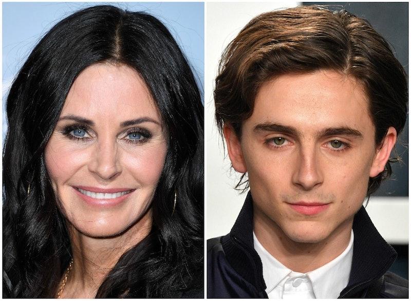 Courteney Cox Would Cast Timothée Chalamet In A 'Friends' Reboot
