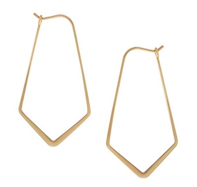 Humble Chic Geometric Hoop Earrings