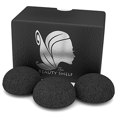 Konjac Sponge (3 Pack) by The Beauty Shelf