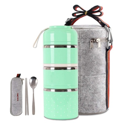 HOMESPON Insulated Bento Box Lunch Bag