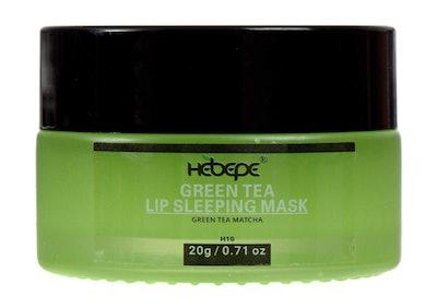 Hebepe Moisturizing Matcha Green Tea Lip Sleeping Mask
