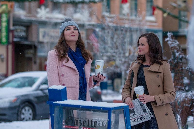 Lauren Graham and Alexis Bledel in 'Gilmore Girls' Revival
