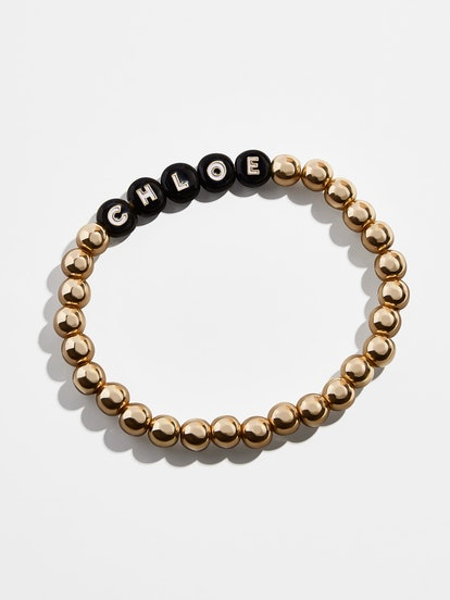 Custom Black Pisa Beaded Bracelet