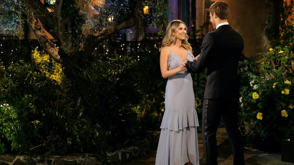 Mykenna and Peter on The Bachelor