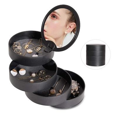 CONBOLA 4-Tier Jewelry Organizer Box