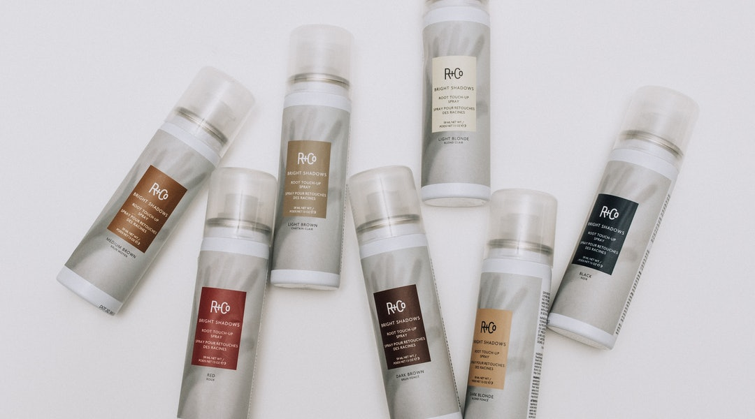 R+Co's New BRIGHT SHADOWS Root Touch-Up Spray Will Help You Delay Your Next Hair Appointment